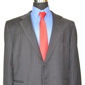 Stanley Blacker 50R Sport Coat Blazer Suit Jacket
